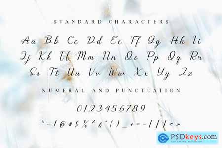 Morgana - Signature Script Font