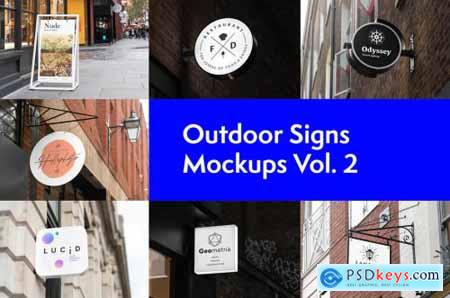 Posters and Signs Mockups Bundle