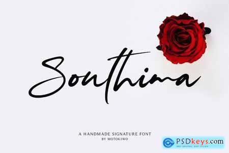 Southima - Modern Script 4300495