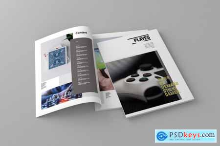 Playes - Magazine Template 4309236
