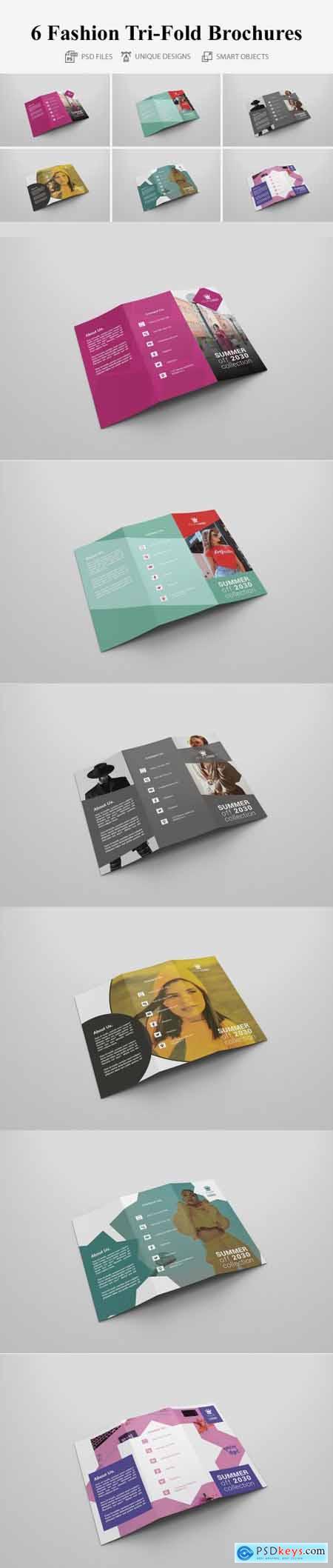 6 Fashion Tri Fold Bochures 4258462
