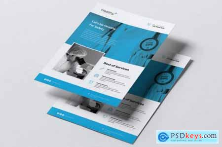 HEALTHY Medical Flyer & Business Card