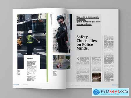 Project - Magazine Template 4309238