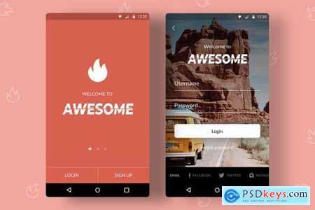 Splash Screens App - Android