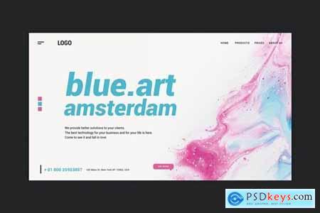 Design & Art - Landing Page