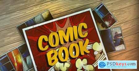 Videohive Comic Book 12963569