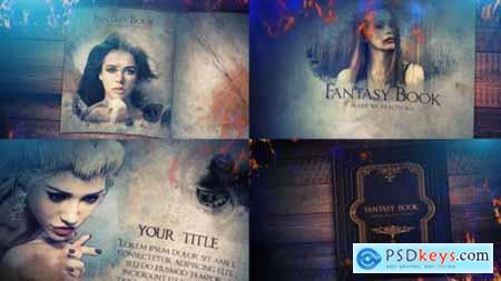 Videohive Fantasy Book Opener Slideshow 25018309