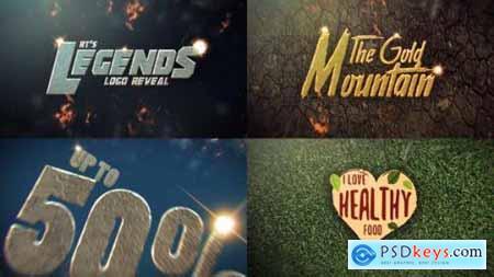 Videohive Legendary Logo Reveal Multipurpose 23254633