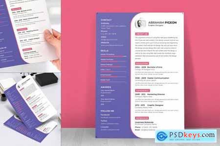 Resume CV Template-46