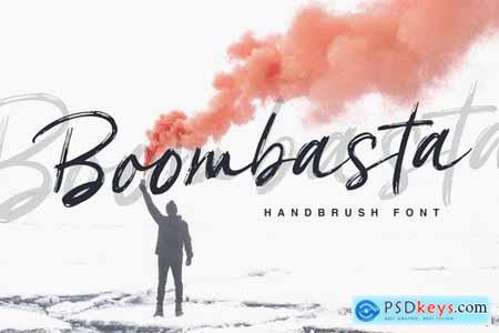 Boombasta - Handbrush Font