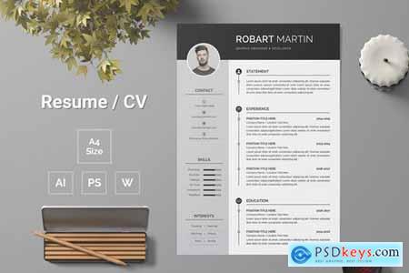 Resume Template 141