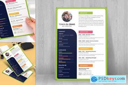 Resume CV Template-45