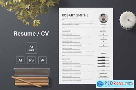 Resume Template 143