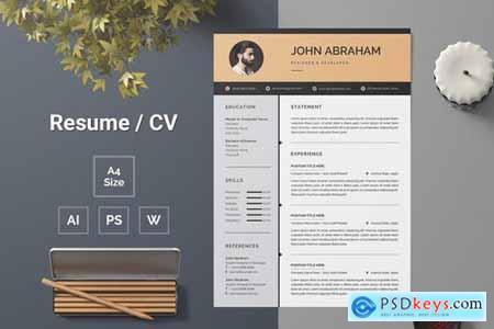 Resume Template 142