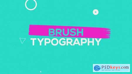 Videohive Brush Typography Promo 22314276