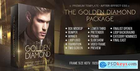 Videohive The Golden Diamond Awards Package 20317127