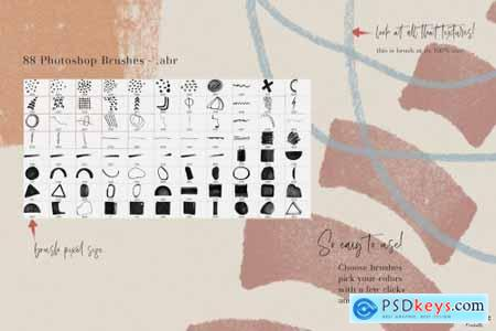 Abstract Art Generator- PSD Brushes 4281557