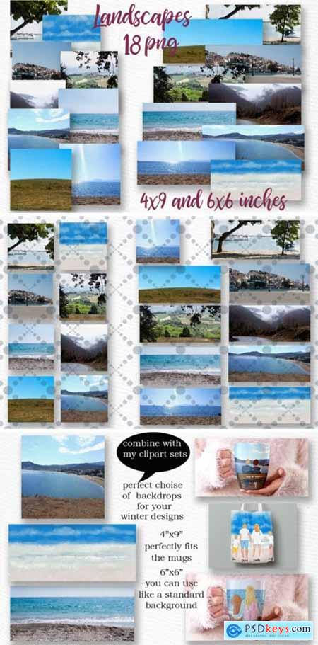 Beach Background Holiday Landscapes 2040317
