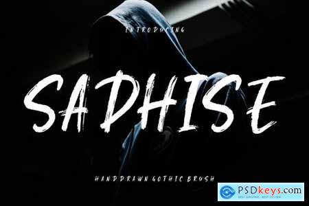 Sadhise Handdrawn Gothic Brush