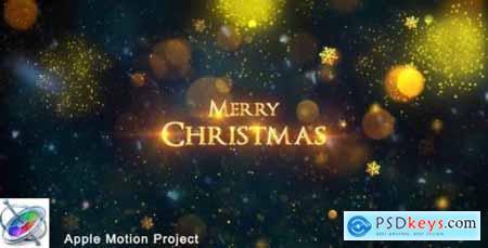 Videohive Christmas Apple Motion 18761676