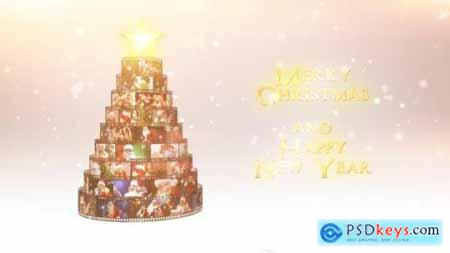 Videohive Merry Christmas Film Reel Wishes 18996758