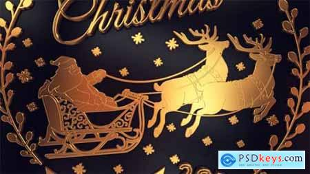 Videohive Gold Christmas Titles 18963639