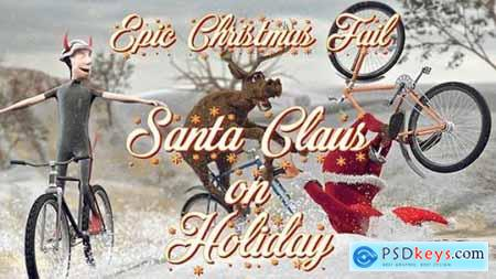Videohive Santa Claus on Holiday Epic Christmas Fail 18959306