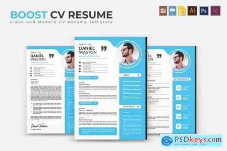 Boost CV & Resume Template