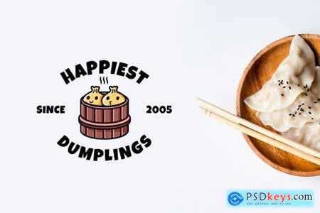 Happy Dumpling - Mascot & Esport Logo