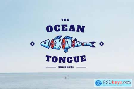 Ocean Tongue - Mascot & Esport Logo