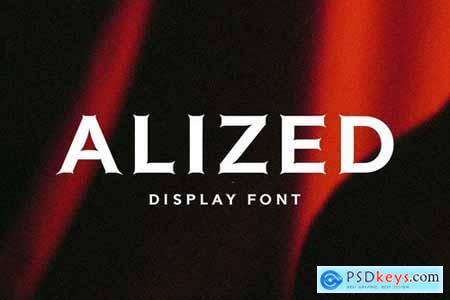 Alized Font