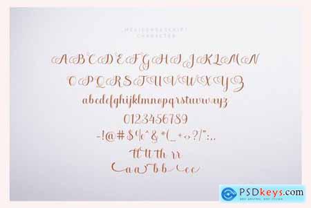 Melisenda Script