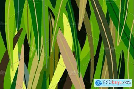 Procreate palette Grass 4313884