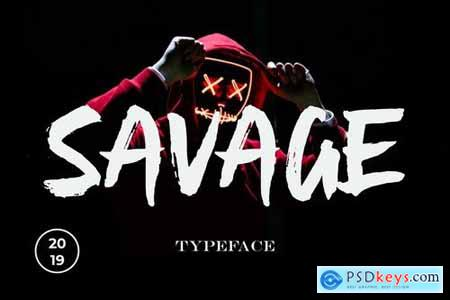 Savage Font