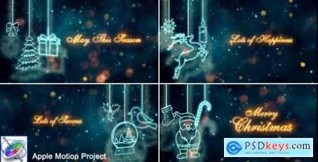 Videohive Christmas Titles Apple Motion 21003754