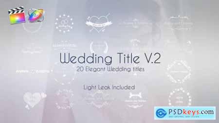 Videohive Wedding Title V.2 25102468