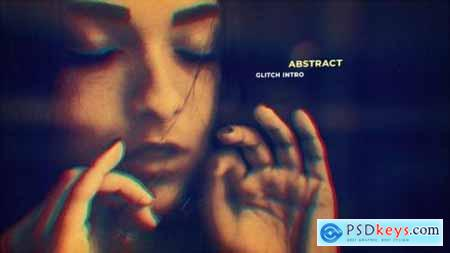 Videohive Cinematic Glitch Slideshow 24927168