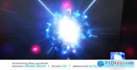 Videohive Particle Energy Blast Logo Reveal V3 15864202