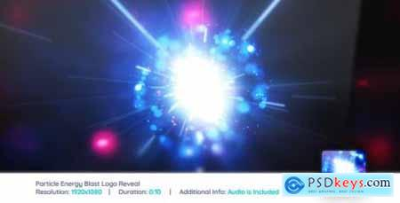 Videohive Particle Energy Blast Logo Reveal -- Apple Motion 21448618