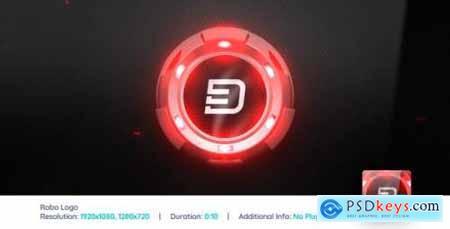 Videohive Robo Logo Reveal V2 166709