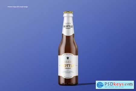 Beer Bottle Mockup Set 4191655