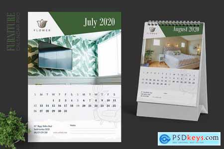 2020 Furniture Interior Calendar Pro