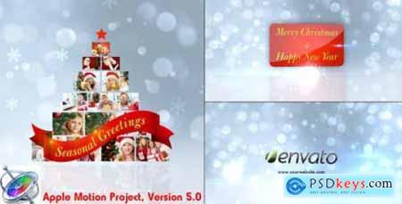 Videohive Christmas Greetings Apple Motion 6276490