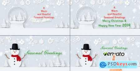 Videohive Christmas Wishes Text 6228075