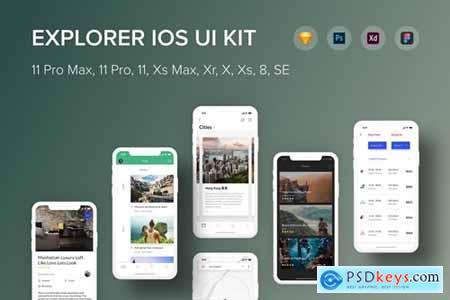 Explorer iOS UI Kit