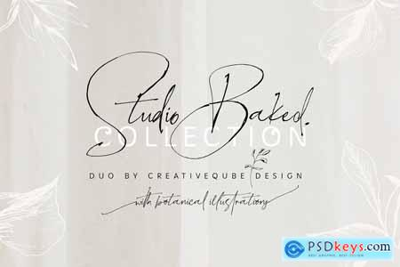 NEW Font Bundle by Creativeqube 4281068