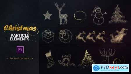 Videohive Christmas Particle Elements for Premiere Pro 22972402