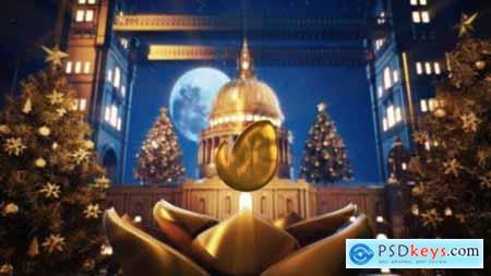 Videohive Golden Christmas In Vatican 23007518