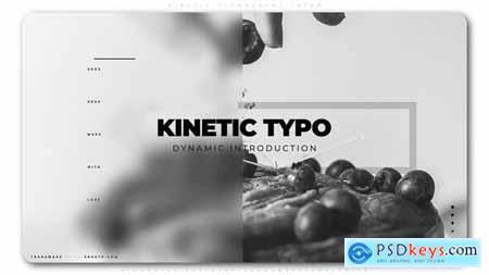 Videohive Kinetic Typography Intro 25081072