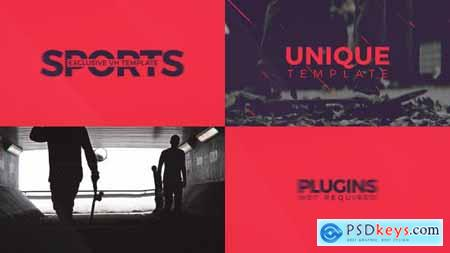 Videohive Sport Template For Promo 18559489